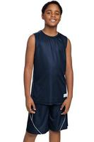 Youth PosiCharge ® Mesh Reversible Sleeveless Tee