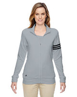 Ladies' climalite® 3-Stripes Full-Zip