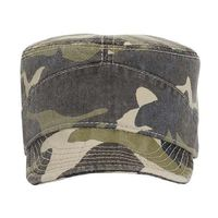 OTTO Camouflage Garment Washed Superior Cotton Twill Flexible Soft Visor Military Cap