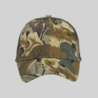OTTO Camouflage Cotton Blend Twill Six Panel Low Profile Mesh Back Trucker Hat