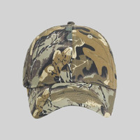 OTTO Camouflage Cotton Blend Twill Youth Six Panel Low Profile Baseball Cap