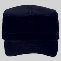 OTTO Garment Washed Superior Cotton Twill w/ Heavy Stitching Military Cap
