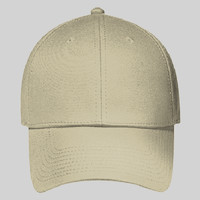 "OTTO Brushed Stretchable Cotton Twill ""OTTO FLEX"" Six Panel Low Profile Baseball Cap"