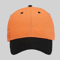 OTTO Neon Superior Polyester Canvas Six Panel Low Profile Baseball Cap
