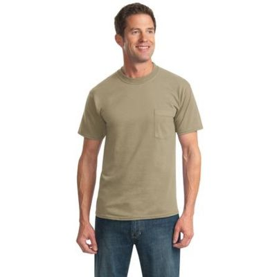 Dri Power ® Active 50/50 Cotton/Poly Pocket T Shirt Thumbnail