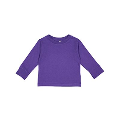 Toddler Long-Sleeve Cotton Jersey T-Shirt Thumbnail