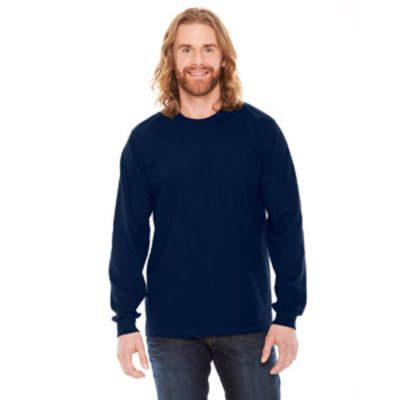 Unisex Fine Jersey USA Made Long-Sleeve T-Shirt Thumbnail