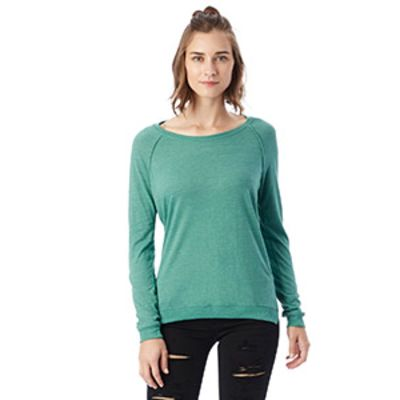 Ladies' Locker Room Eco-Jersey Pullover Thumbnail