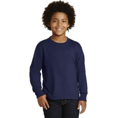 Youth Dri Power ® Active 50/50 Cotton/Poly Long Sleeve T Shirt Thumbnail