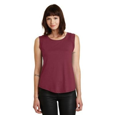 Alternative Cap Sleeve Satin Jersey Crew T Shirt Thumbnail