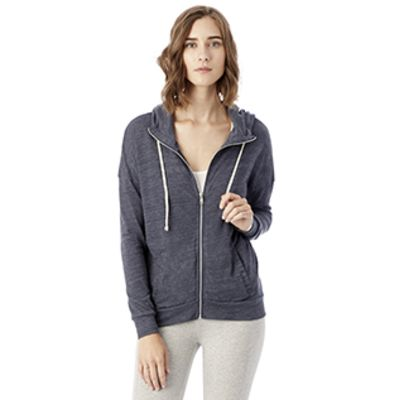 Ladies' Cool Down Eco-Jersey™ Zip Hoodie Thumbnail