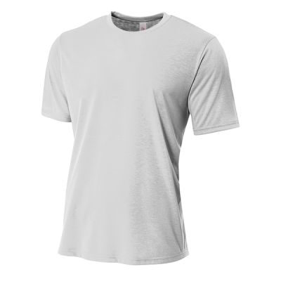 Youth Shorts Sleeve Spun Poly T-Shirt Thumbnail