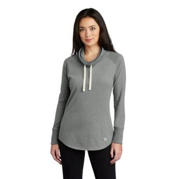 ® Ladies Sueded Cotton Blend Cowl Tee Thumbnail