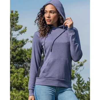 Women's French Terry Side Stripe Pullover Thumbnail