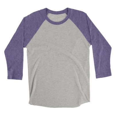Ladies Heather 3/4 Sleeve Raglan Thumbnail
