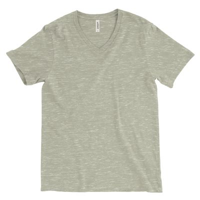 Cotton Short Sleeve V Neck T-Shirt Thumbnail
